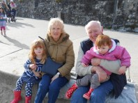 Nanny and Granddad at Lyme Regis