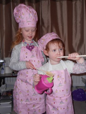 Two little chefs