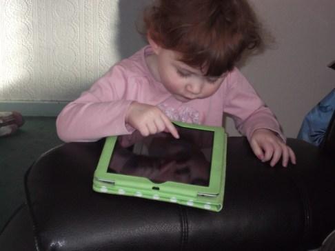 Nanny Fran's iPad