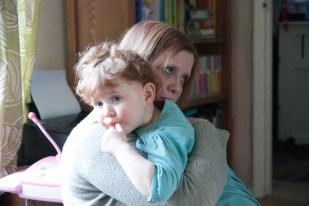 An Amélie cuddle
