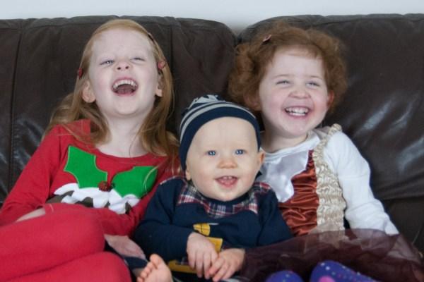 Merry Christmas from Éowyn, Amélie and Ezra