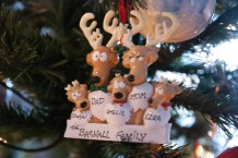 The Bagnall Family - Christmas Tree Decoration