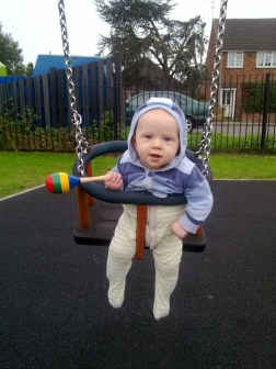 I said, this is my Swing!
