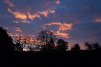 Sunrise at Bagnall manor