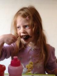 Eat the chocolate