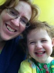 Amélie and Mommy