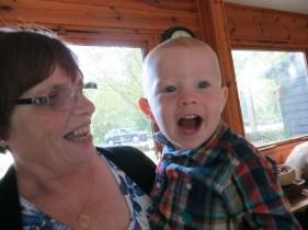 With Nanny Fran!