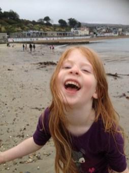 The beach is brilliant!