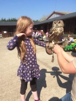 Éowyn and an owl