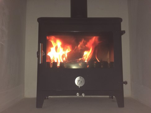 The first fire!