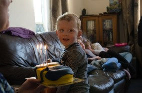 My birthday cake?
