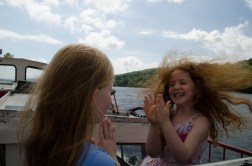 Fun on the boat