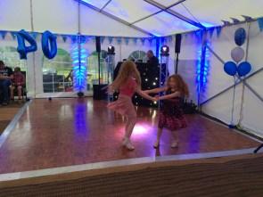 Sisters on the dance floor