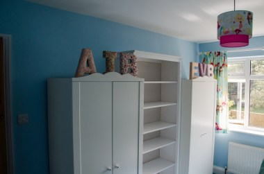 Initialled wardrobes