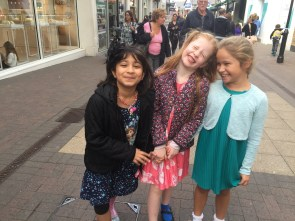 The girls in Staines Upon Thames