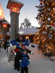 Astride the Arctic Circle
