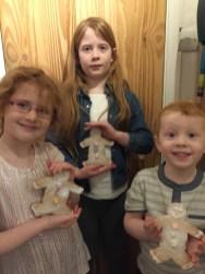 The Baguettes Gingerbreadmen