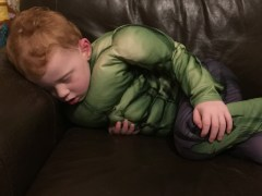 A tired hulk