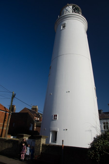 Visiting the lighthouse
