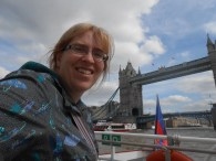 Mommy and Tower Bridge