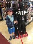 Ezra and his hero