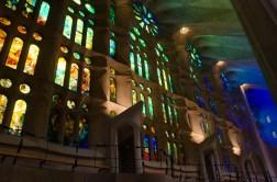 In the Sagrada Familia