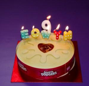 Éowyn's 9th birthday cake