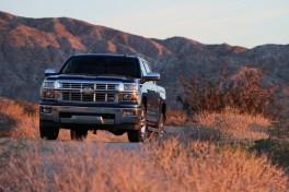 Chevrolet Silverado at dawn II