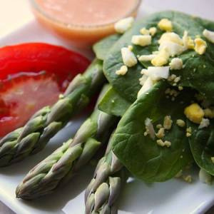 Omar Khayyam's Famous Spinach Salad