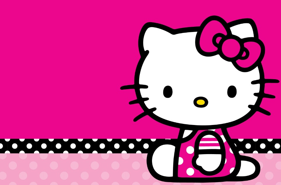 gambar hello kitty imut