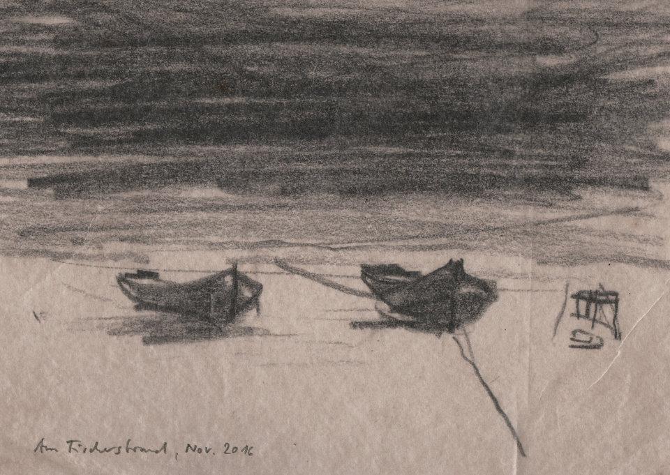 Notizen zum Fisch: Onkel P. 2/5, Antje Bartel, Rügen, Deutschland