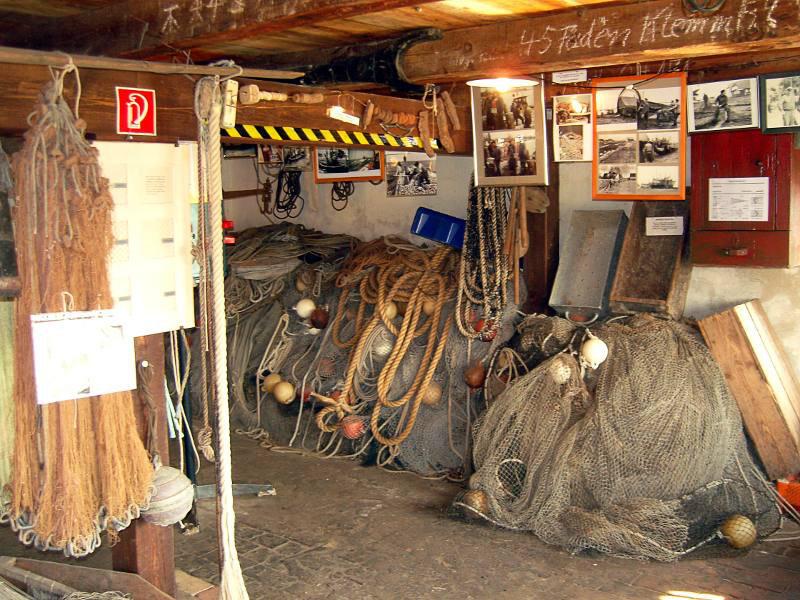 Lütt Partie, Fischereimuseum Neuendorf, Hiddensee