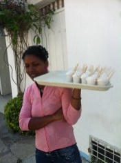 A Cartagenan speciality of whipped eggwhites and tamarind