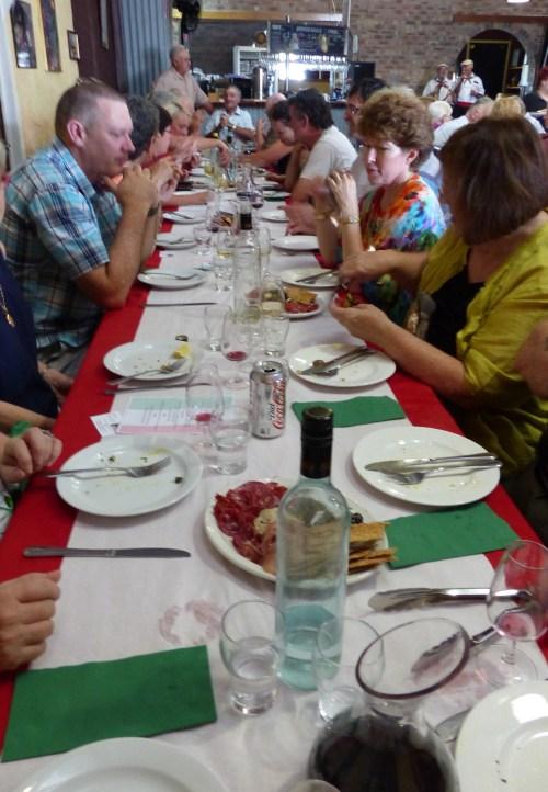 Long table lunch Ballandean Estate
