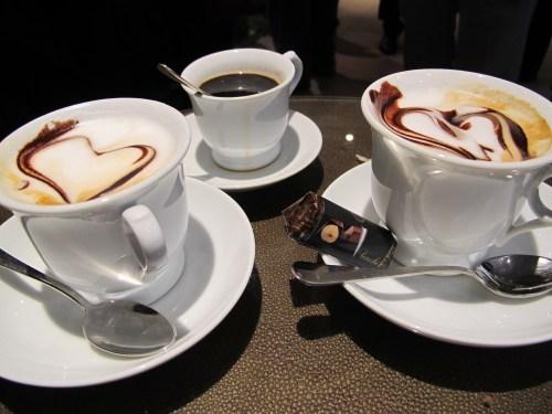 Coffee at Giacosa