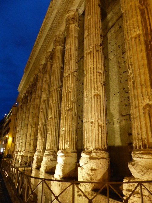 Rome columns