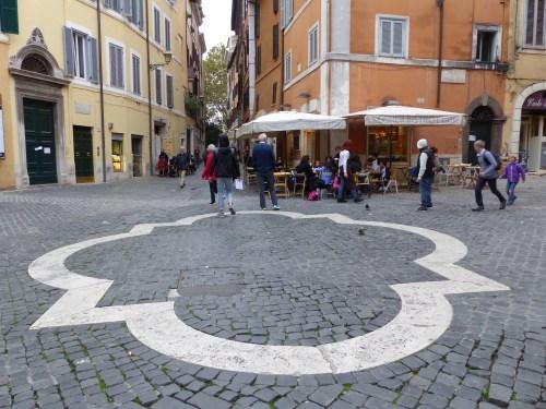 Jewish area Rome