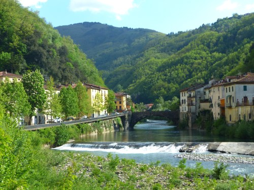 Ponte a Serraglio spring