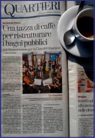 La nostra campagna raccolta fondi nel giornale La Stampa nel 2014