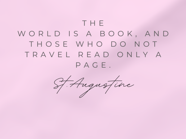 Travel quotes: St. Augustine