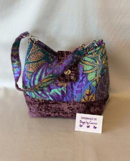 Purple Yanna Handmade Handbag