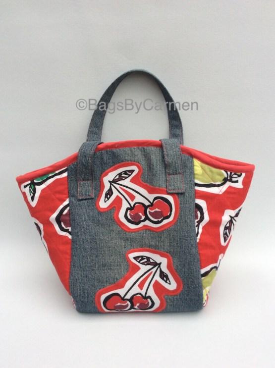 Handbag – Fruit Print_Front