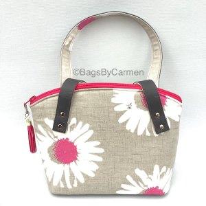Pink Daisy Handbag