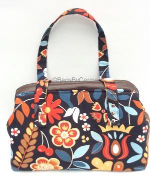 Handbag - Flower Print