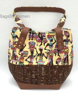 Handbag African Print