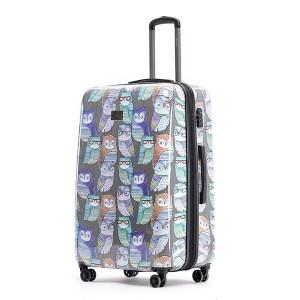 TOSCA Owl Print Luggage