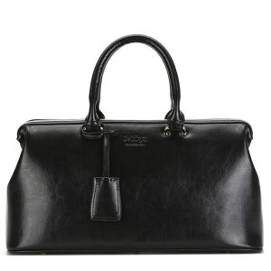 Купить Сумка-чемодан женская черного цвета кожаная Bvlriga England style фото цена