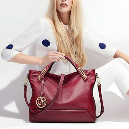 Designer Luxury handbag red 2