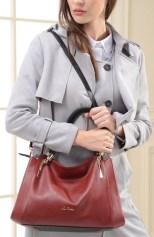 Designer Luxury handbag red 6-2