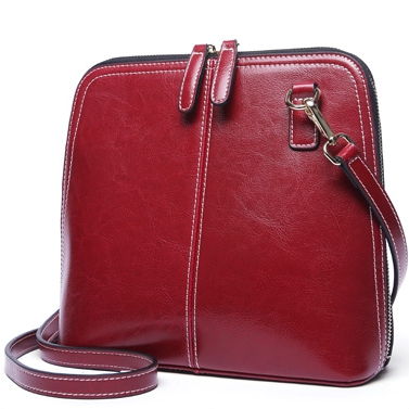 Esufeir, crossbody wine red